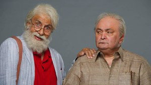Amitabh Bachchan and Rishi Kapoor will play father and son on the big screen