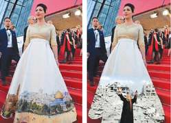 Five dresses making tongues wag at Cannes