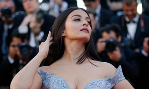 Aishwarya Rai owns the Cannes red carpet in a beautiful blue ballgown