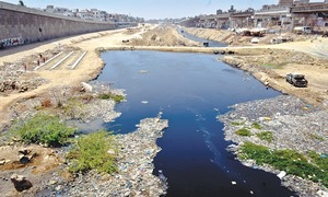 Toxic river passing through city threat to public health