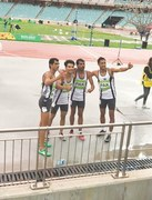 Pakistan's quartet clinch silver in relay race at Islamic Games