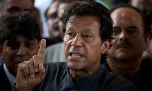 Imran comes under fire in Balochistan PA