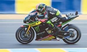Vinales wins thrilling French MotoGP after Rossi crashes