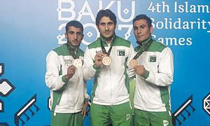 Hosts Azerbaijan win Islamic Games with 75 gold medals