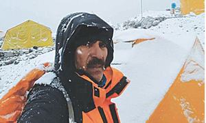 Mountaineer Bhatti unwell after scaling Everest