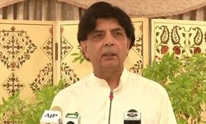 Interior minister says wants to track each social media user's activities online