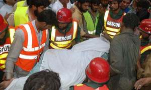 Six dead, 14 injured as passenger van plunges into ditch in Azad Kashmir