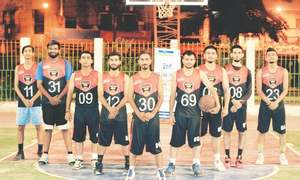 Arambagh Club bounce back twice to win basketball title