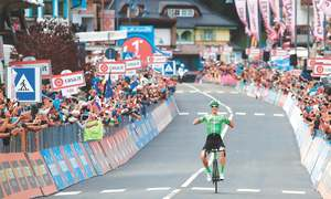 Rolland rewarded with first Giro stage victory