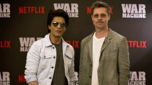 Shah Rukh Khan gave dance lessons to Brad Pitt so he can work in Bollywood