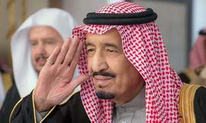Saudi king apologises to Nawaz, other leaders for snub at US-Arab-Islamic Summit