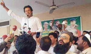 Sharifs a security risk, claims Imran