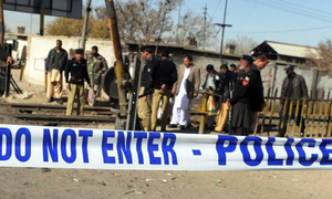 DSP killed, his nephew injured in Quetta firing