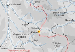 Four injured in IED explosion along Line of Control