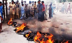 Protests in Karachi as power outages continue despite high temperature, Ramazan