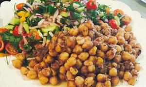 افطار اسپیشل: مزیدار چنا چاٹ بنانے کا طریقہ