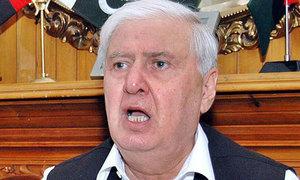 Sherpao, Asfandyar condemn Kabul blast