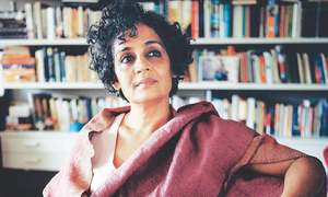 Arundhati Roy's new book of flower-paste and poetry