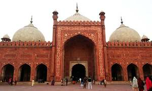 Takht-e-Babri, the first Mughal construction in the subcontinent, is grand only in name