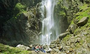 جاروگو: آبشار جو تلوار کی دھار سے کم نہیں