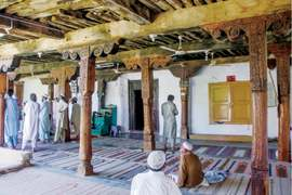 Ancient mosque in Swat attracts lovers of art, architecture
