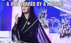 Here is what happened when Veena Malik invited a jinn to her show