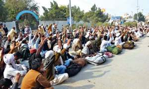 Farmers in Balochistan protest against load-shedding