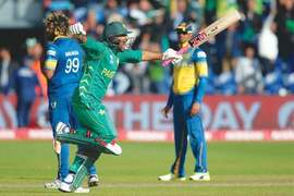 Pakistan's win against Sri Lanka sees a familiar commotion