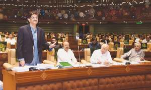 Sindh Assembly approves 'tax-free' budget of over Rs1.043 trillion