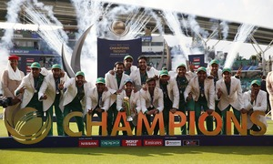 Pakistan romp to historic win over arch-rivals India in thrilling Champions Trophy final