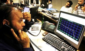 What caused the Pakistan Stock Exchange boom and bust?