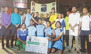 NJ Punjab win Ramzan Night Rocball title
