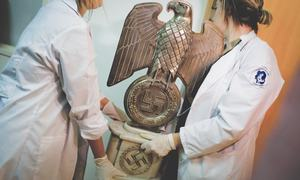 Hidden trove of suspected Nazi artefacts found in Argentina