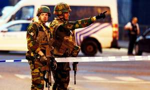 Brussels train station 'terrorist' bomber shot dead