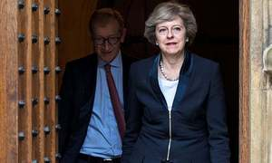 May's talks with DUP not going 'as expected'
