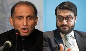 Pakistan, Afghan envoys in US trade barbs at Washington moot