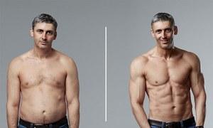45 سالہ شخص جسم بدلنے میں کیسے کامیاب ہوا؟