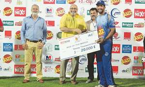 Sohaib shines in facile UBL win