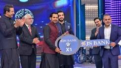 Waseem Akram and Shoaib Akhtar gifted a BMW to Sarfraz Ahmed on their Ramazan show