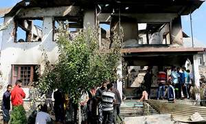 Civilian killed at funeral for slain 'militants' in held Kashmir