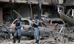 At least 34 killed in southern Afghanistan bombing