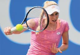 Kvitova makes quarter-final
