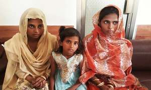 Three sisters abducted from Mirpurkhas recovered by police