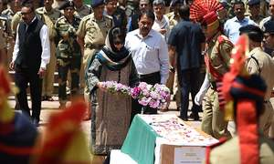 Police officer beaten to death in India-held Kashmir