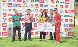 Khushdil leads K-Electric march into Corporate Cup final