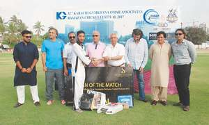 Holders Tapal CC storm into KG title decider
