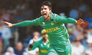 Amir — the meteor strikes back to crush India in final
