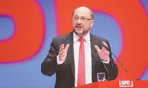 Merkel's SPD rivals rally in search of German election rebound