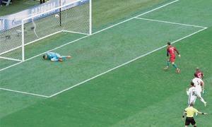 Ronaldo's Portugal reach semi-finals, Russia crash out