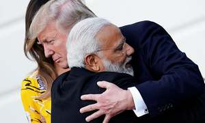Trump stresses strong ties with India but urges Modi to fix deficit